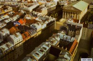 Maquette de l'Exposition Universelle de Séville 1992 - Quartiers anciens - Ville de Paris au 18ème et 19ème siècle