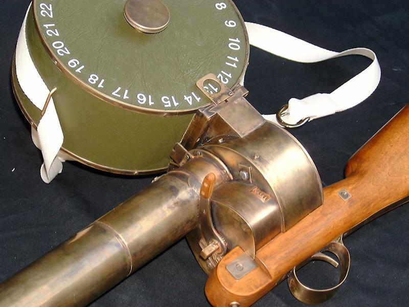 Fac-similé de fusil chronophotographique