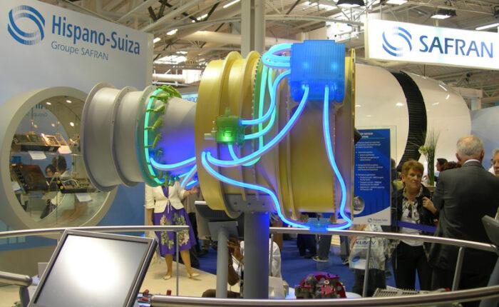 Maquette industrielle d'exposition d'un sytème de régulation et motorisation