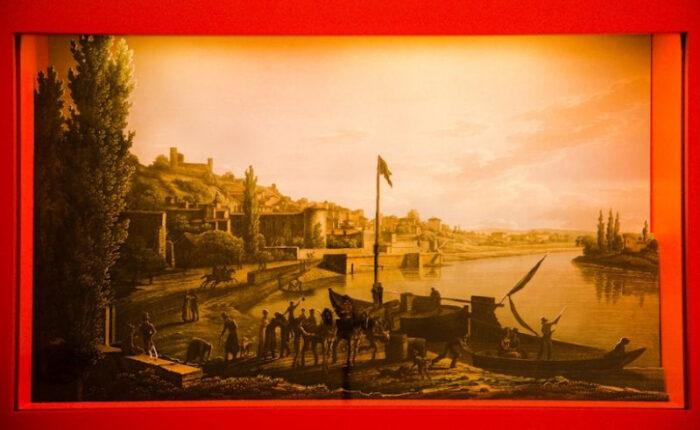 Diorama historique - CIAP de Trevoux