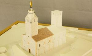 Maquette historique de l'ancienne église de Chazay d'Azergues