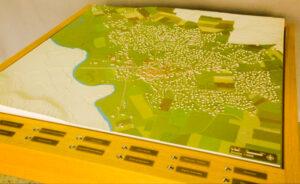 Maquette interactive d'urbanisme de Chazay d'Azergues Aujourd'hui