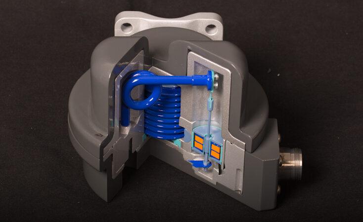 Maquette industrielle de transmetteur de pression - Rolls-Royce