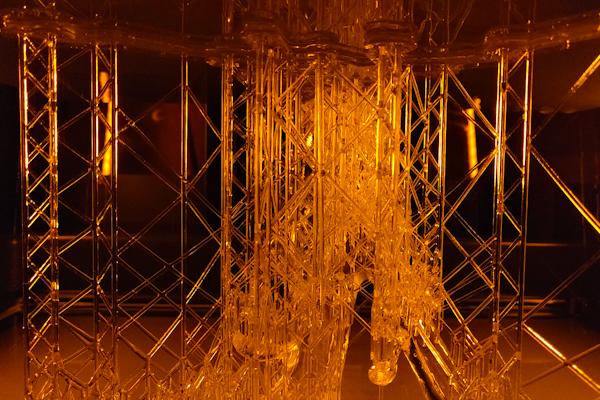 Impression 3D en cours au sein de l'atelier Ducaroy Grange