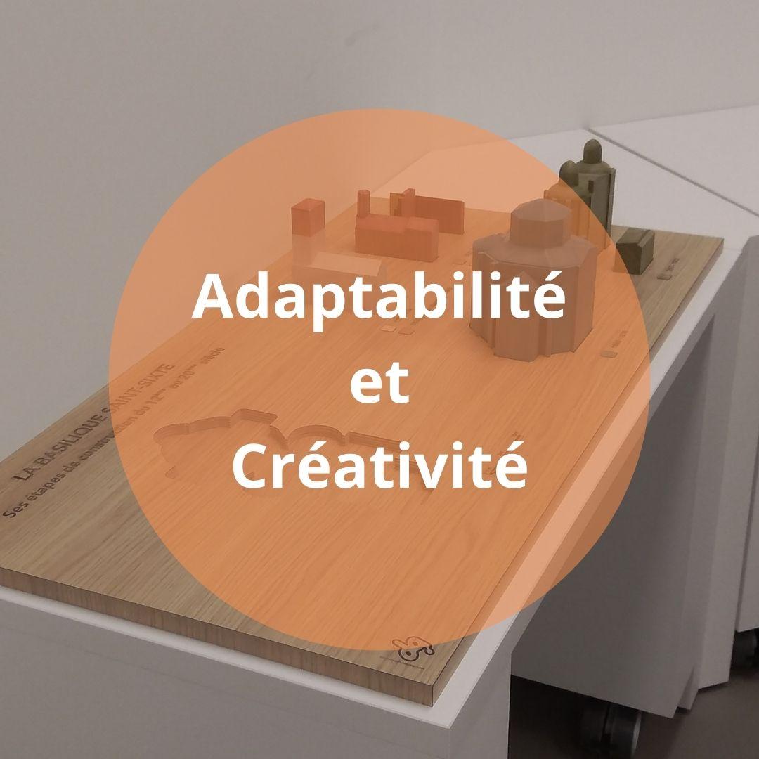 Les valeurs de Ducaroy Grange : Adaptabilité et Créativité