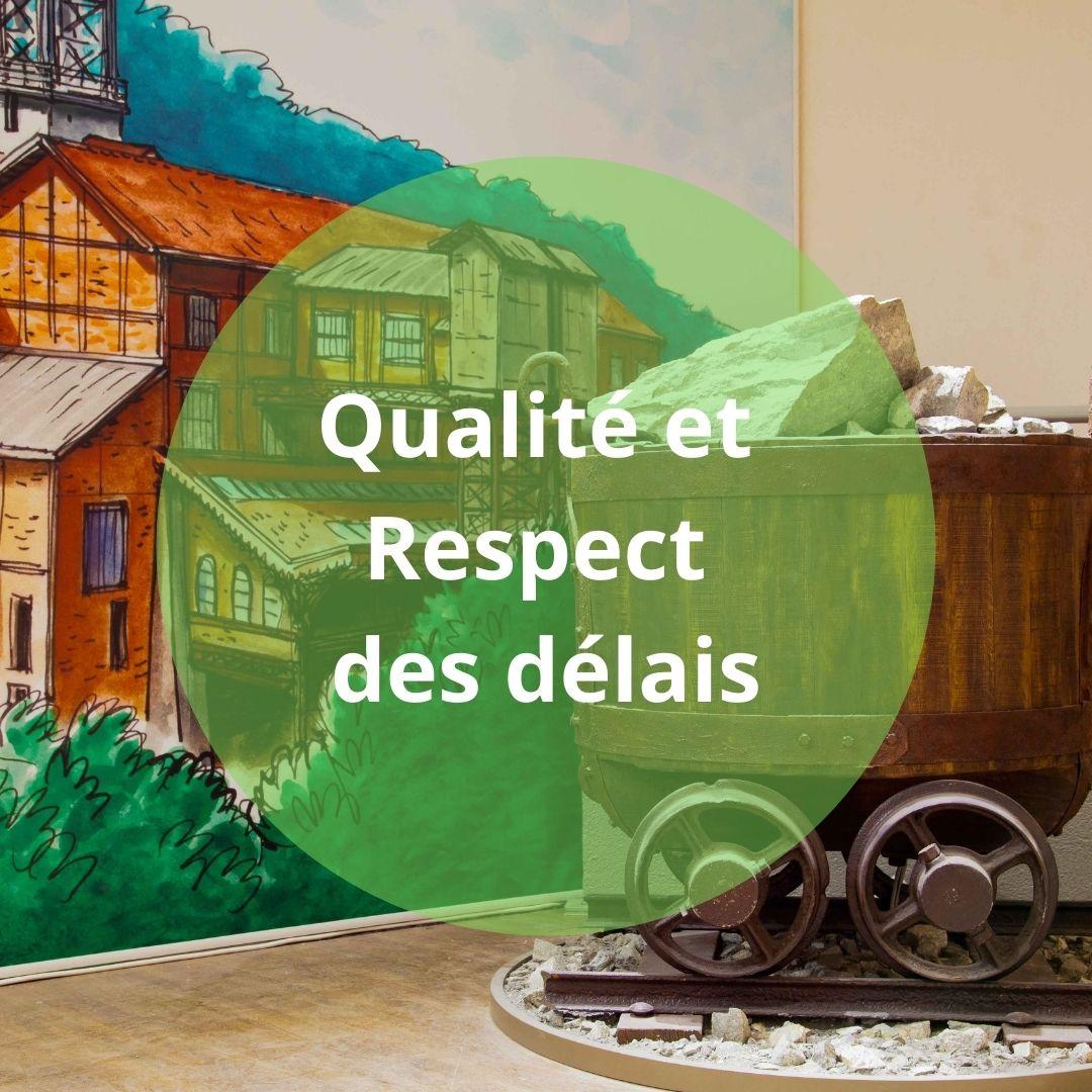 Les valeurs de Ducaroy Grange : Qualité et Respect des délais