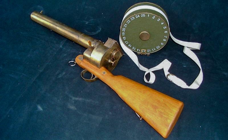 Fusil chronophotographique Factice à taille réelle