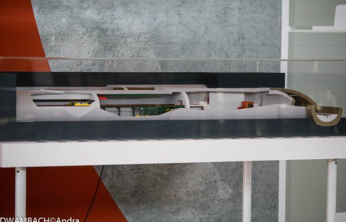 Maquette industrielle - Alvéole de stockage MAVL