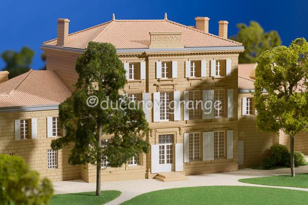 Maquette de Château Figeac- Saint Emilion Grand Cru