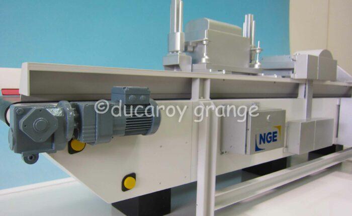 Maquette d'exposition de l'outil industriel de caractérisation Diagnosol Express® développé par Guintoli (NGE)