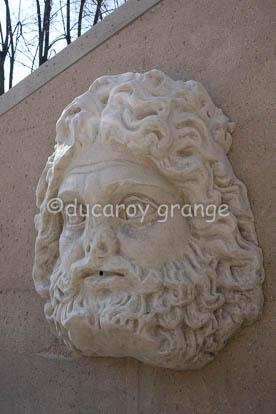 Moulage de sculpture antique - Aménagement du jardin André Malraux a Lyon 5