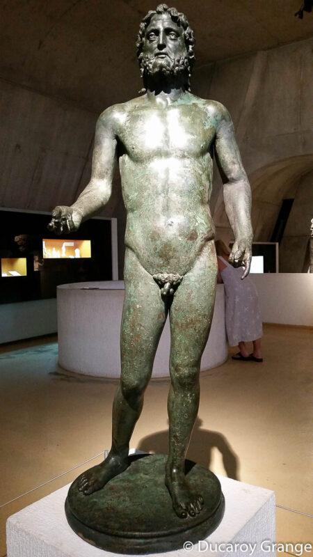 Sculpture de Neptune - Original Musée Lugdunum