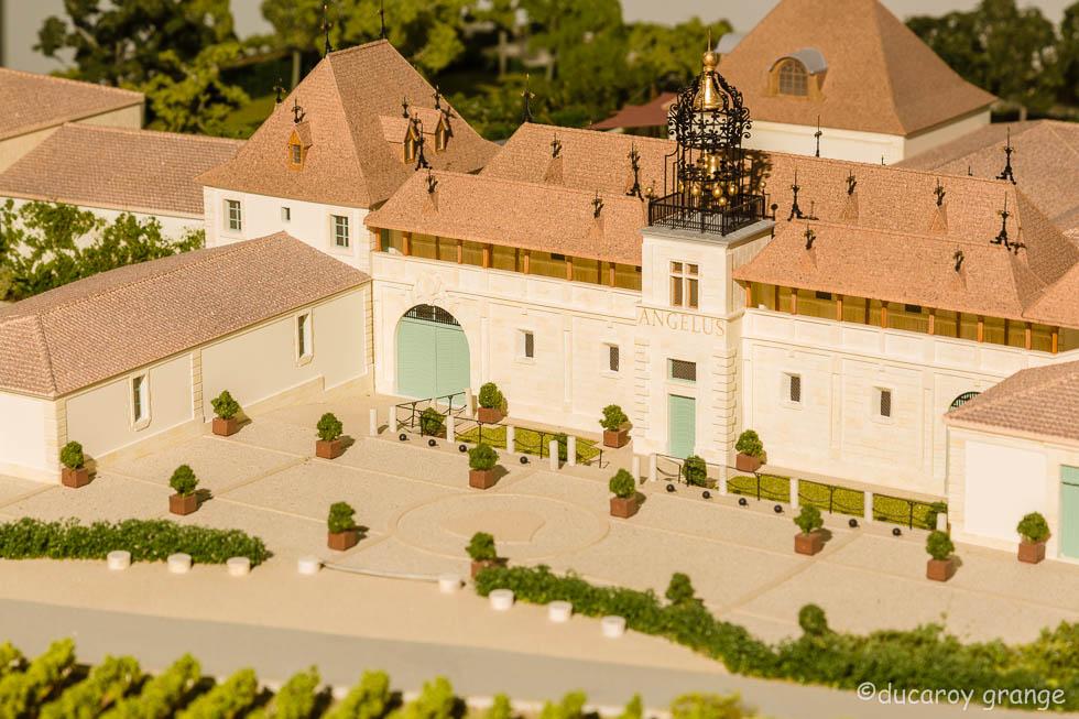 """Maquette du Domaine """"Château Angelus"""""""