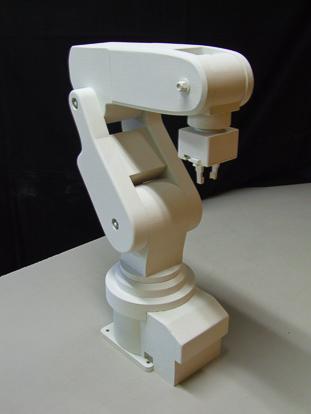 Maquette d'étude d'un robot