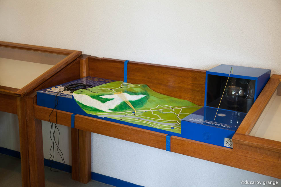 Maquette tactile sonore lumineuse site station telegraphie sans fil Galletti